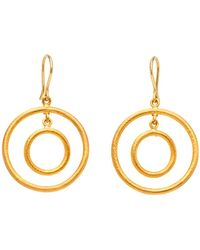 Yossi Harari | Double Round Wire Earrings | Lyst