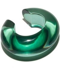 Lizzie Fortunato - Arc Cuff In Sea Green - Lyst