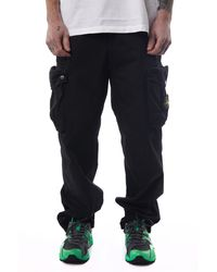 Stone Island - Pocket Cargo Pant 'black' - Lyst