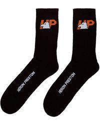 Heron Preston Eagle Socks 'black'