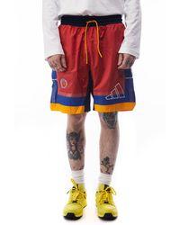 adidas X Eric Emanuel Mcdonalds Shorts 'red'