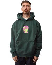 Brain Dead X Gotcha Sci-fi Surf Hoodie 'forest Green'