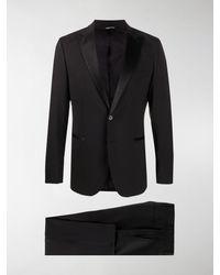 Tonello Two-piece Formal Suit - Black