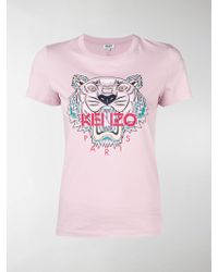 KENZO - Pink Tiger T-shirt - Lyst