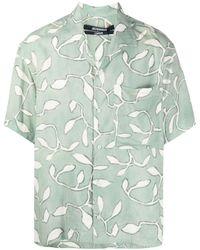 Jacquemus Jean Leaf-print Shirt - Green
