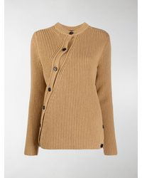Colville Cable-knit Twisted Wool Cardigan - Brown