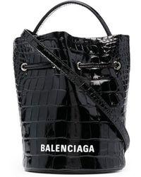 Balenciaga Everyday XS Beuteltasche - Schwarz