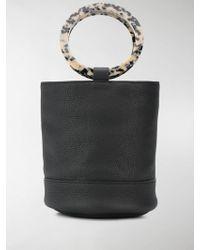 Simon Miller Bonsai 20 Medium Bucket Bag - Black