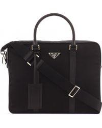 prada saffiano messenger bag - 164+ Men's Prada Briefcases and Work Bags - Browse & Shop | Lyst