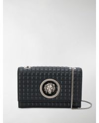 Versus - Quilted Lion Head Clutch - Lyst