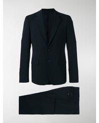 Prada Notched Lapel Suit - Black