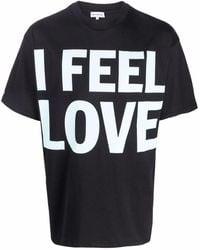 Honey Fucking Dijon Slogan Print T-shirt - Black