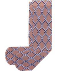 Dries Van Noten - Printed Socks - Lyst