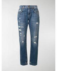 Dolce & Gabbana Jeans con effetto vissuto - Blu
