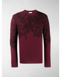 Etro Knitted Wool Jumper - Red