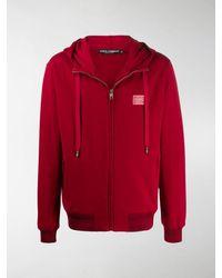 Dolce & Gabbana Felpa con cappuccio - Rosso