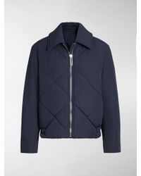Burberry - Quilted Technical Cotton-blend Jacket - Lyst
