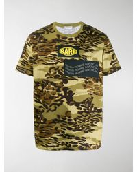 Givenchy Camouflage Print T-shirt - Green
