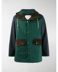Mackintosh Arrochar Cedar Bonded Cotton Oversized Field Parka Gr-1009 - Green
