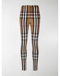 Burberry Vintage Check Jodhpur Trousers - Brown