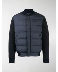 Ferragamo Padded Front Jacket - Blue