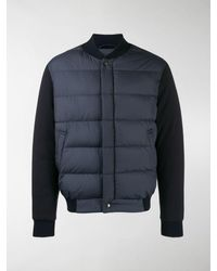 Ferragamo Padded Front Jacket - Blue