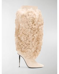 Tom Ford - Stivali in shearling - Lyst