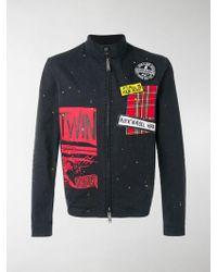 DSquared² Patchwork Jacket - Black