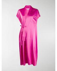 Balenciaga Ärmelloses Kleid - Pink