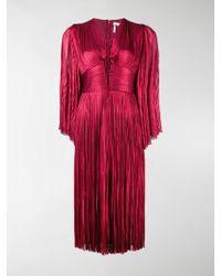 Maria Lucia Hohan - Pleated Midi Dress - Lyst