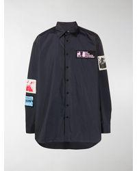 Raf Simons Patch-embellished Shirt - Multicolour
