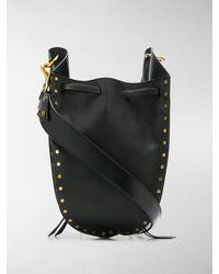 Isabel Marant Radja Satchel Bag - Black