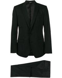 Dolce & Gabbana Klassischer Anzug - Schwarz