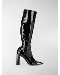 Alexander Wang Mascha Knee High Boots - Black