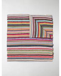 Paul Smith Sciarpa a righe - Multicolore