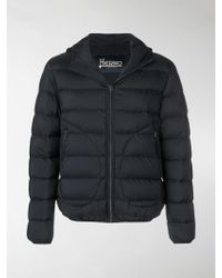 5c9ddf9056f6 Herno Polar Tech Quilted Down Jacket in Black for Men - Lyst