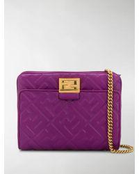 Fendi Upside Down Belt Bag - Purple