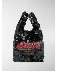 Anya Hindmarch Anya Brands Mars Tote - Black