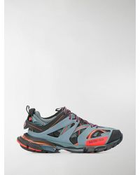 Balenciaga - Lace-up Track Sneakers - Lyst