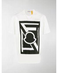 Moncler Genius X Craig Green Logo Print T-shirt - White