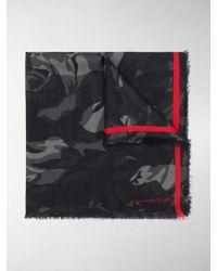 Alexander McQueen - Camouflage Rose Scarf - Lyst