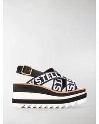 Stella McCartney Sneak Elyse Sandals - Black