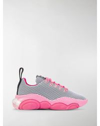 Moschino Teddy Low-top Sneakers - Pink