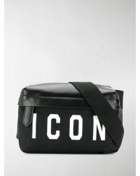 DSquared² Icon Bumbag - Black