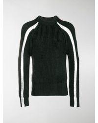 Maison Margiela - Colour-block Knitted Jumper - Lyst