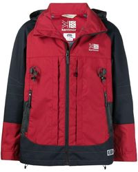 Junya Watanabe X Karrimor K-way Backpack Coat - Red