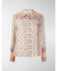 Chloé Floral Paisley Print Shirt - Multicolour