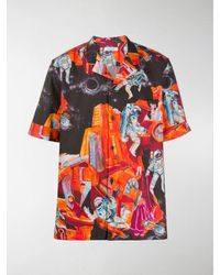 Valentino T-shirt Infinite City - Arancione