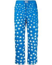 ERL Pantaloni dritti - Blu
