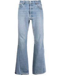 GALLERY DEPT. Ausgeblichene Straight-Leg-Jeans - Blau